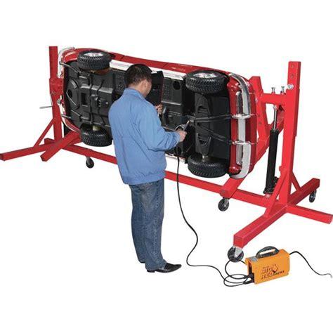 auto forwarding tool torin auto repair lifting rack with gear rotation