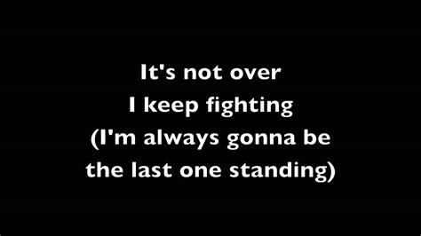 Last One Standing last one standing simple plan lyrics