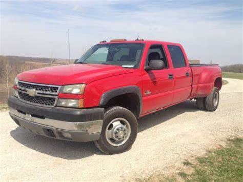 how does cars work 2005 chevrolet silverado 3500 parental controls find used 2005 chevy silverado 3500 6 6l duramax crew cab dually 4x4 loaded diesel in