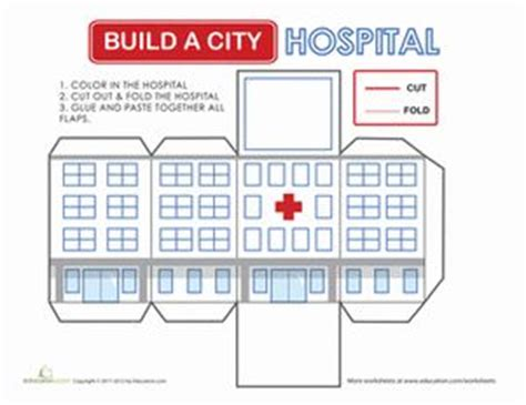 Make A 3d Paper City - 21 best images about doctor day on in the