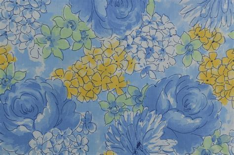 blue and yellow upholstery fabric blue floral fabric blue and yellow fabric cotton floral
