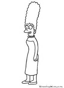 Les Simpsons Marge Az Coloriage