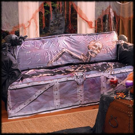 halloween couch cover more haunted house party ideas for halloween page 2