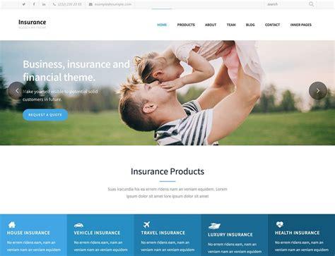 theme wordpress insurance 10 best insurance wordpress themes 2018 athemes