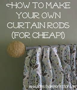 make your own shower curtain rod how to make your own curtain rods on the cheap domestic