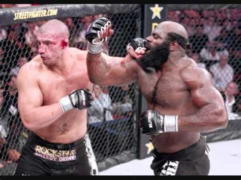 Kimbo Slice Backyard Fights by Kimbo Slice Cuts Mans Ear In Half With