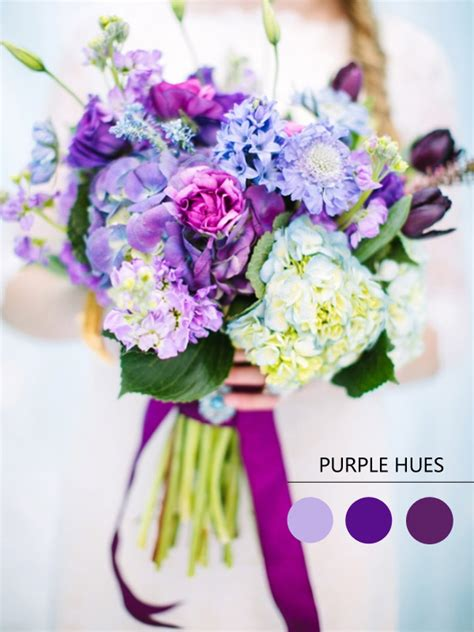 purple hues for winter wedding color ideas and bridesmaid dresses 2014 tulle chantilly