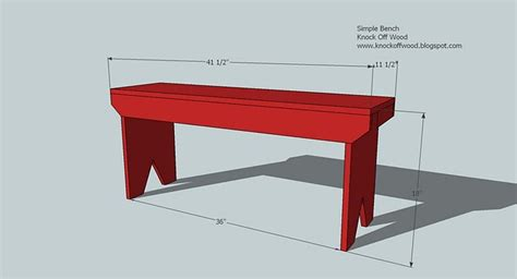 5 board bench plans ana white 5 board bench diy projects
