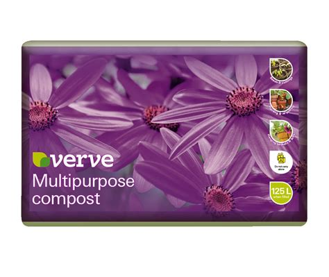 verve multipurpose compost 125l departments diy at bampq