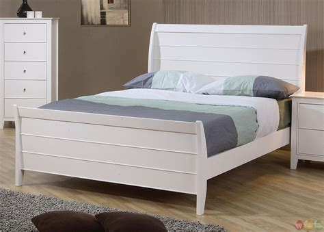 sleigh bed bedroom set selena white twin sleigh bed youth bedroom set