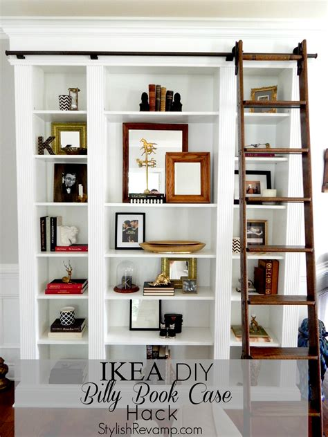 ikea billy bookcase hack ikea billy bookcase archives stylish rev