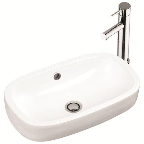 Inset Vanity Basin by Bunnings Fowler Fowler White Regent Inset Vanity Basin