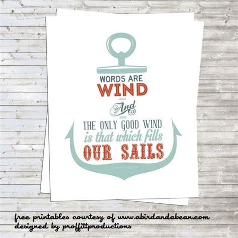 Printable Nautical Quotes | free printable nautical anchor with game of thrones