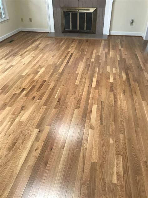 Select Red Oak  Custom Stain Accent Hardwood Flooring