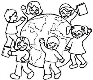coloring pages of places around the world dessins lecture