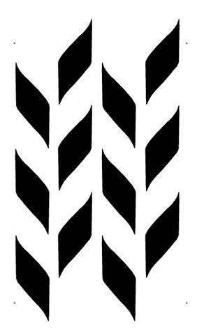 gourd pattern wall stencil chevron pattern wall stencil large reusable easy diy