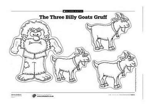 printable masks three billy goats gruff 48 best images about the three billy goats gruff on