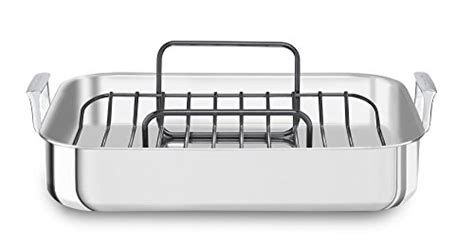 kitchenaid kitchenaid kc1t16rp 16 quot tri ply stainless steel