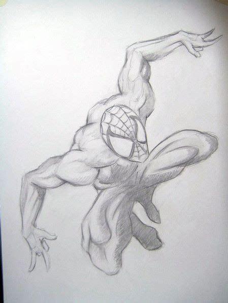 imagenes de spiderman para dibujar a lapiz dibujo a lapicero spiderman paso a paso arte taringa