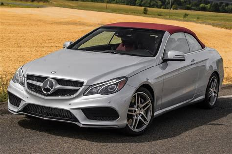 used mercedes convertible used 2016 mercedes benz e class convertible pricing for