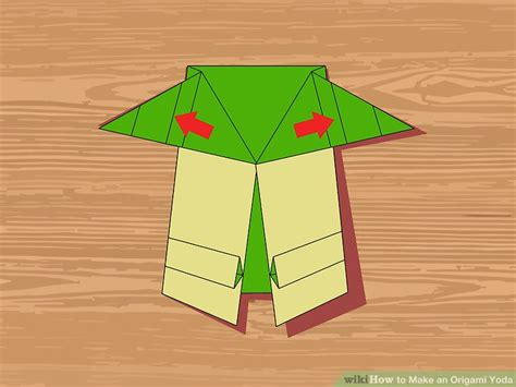 How To Make An Origami Yoda Easy - origami yoda step by step easy driverlayer search engine