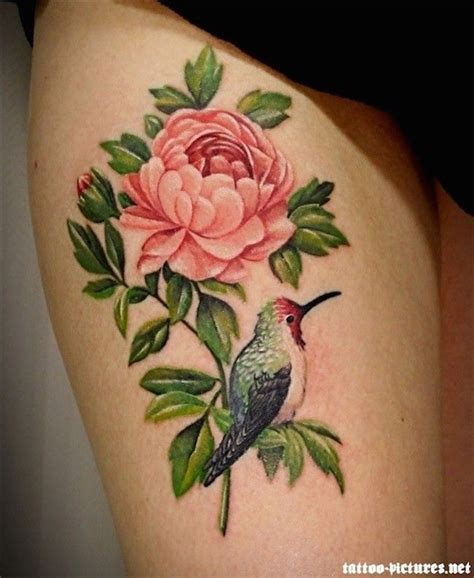 hummingbird rose tattoo 88 best flower tattoos on the amazingly beautiful