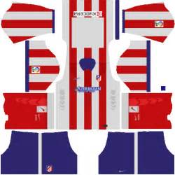 Kits para first touch soccer 15 atletico de madrid