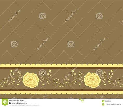 Golden Rose Background Royalty Free Stock Photo   Image