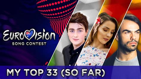 eurovision 2017 top 33 from australia so far doovi