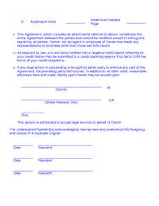 room rental agreement month to month free