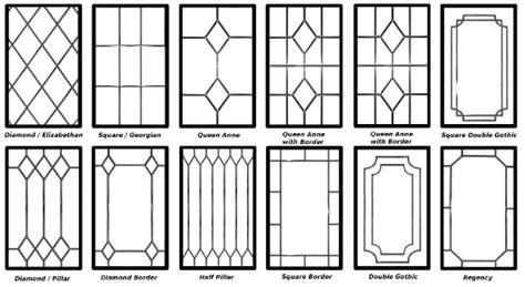 Tudor Style Windows decorative leaded glazing designs signature windows