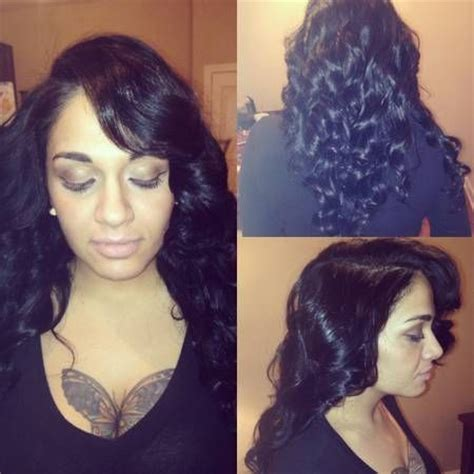 sew in with minimal leave out gorgeoushaiir pinterest 42 best deep side part weave images on pinterest hair