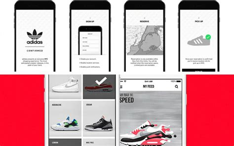 sneakers application adidas et nike lancent des applications d 233 di 233 es aux sneakers