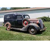 Humpback Wagon 1937 Dodge Panel Truck