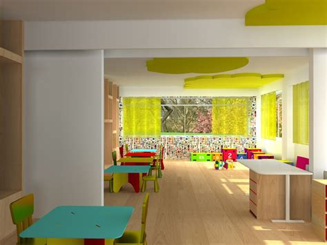 interior design of a nursery classroom eftichia barlou