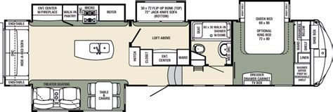 columbus rv floor plans 2017 forest river columbus compass 377mbc cing world