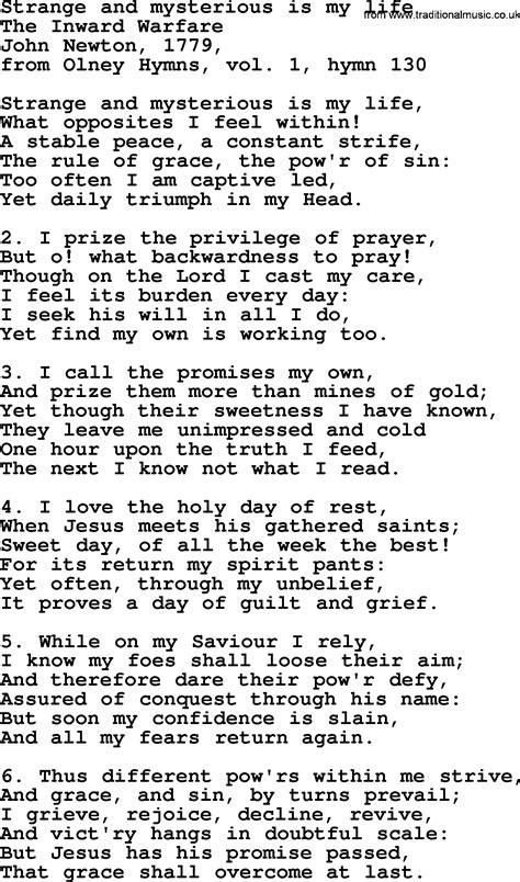 my lyrics newton amazing grace lyrics