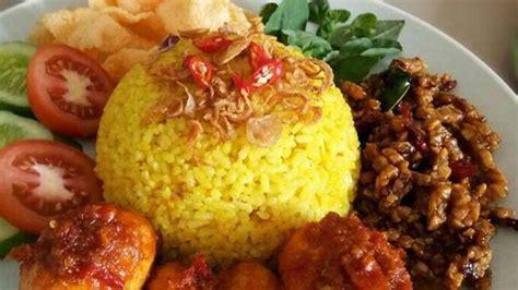 resep nasi kuning  rice cooker  pemula anti