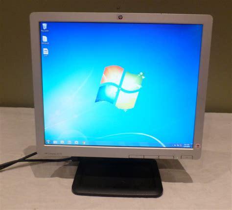 hp compaq le1711 17 lcd monitor 884962170892 ebay