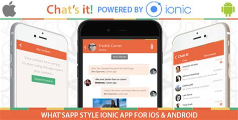 ionic tutorial chat codecanyon what s app chat clone v1 0 an ionic