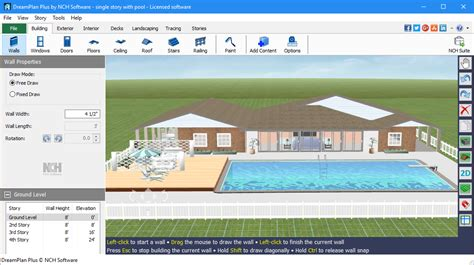 home decor software free download dreamplan home design landscape planning software