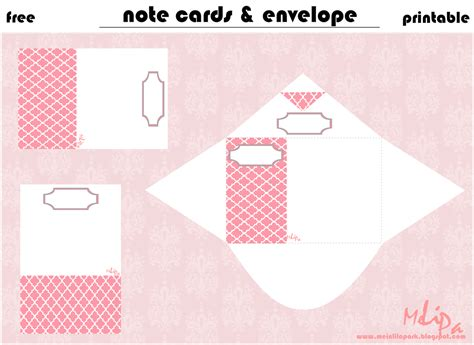 draw so message cards template free printable mini note cards with envelope