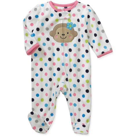 Child Of Mine Sleeper by Child Of Mine By Carters Newborn Dot Monkey Sleep N