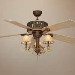 deer ceiling fan antler ceiling fan light kit images