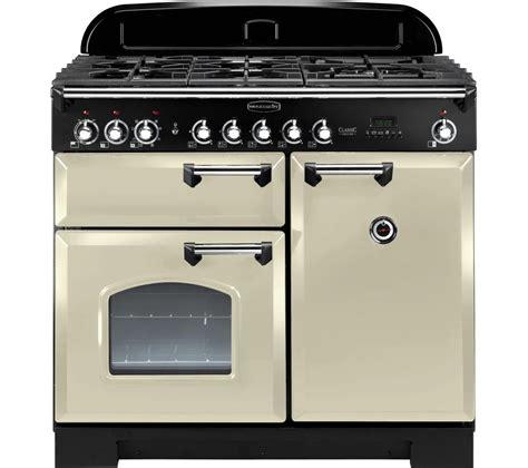 chrome range buy rangemaster classic deluxe 100 dual fuel range cooker