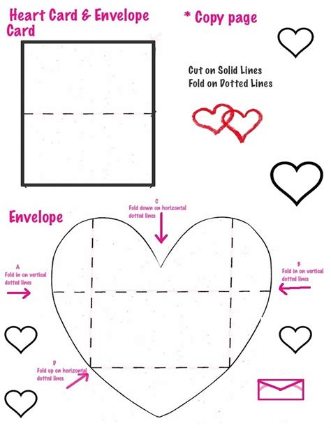 card and envelope template the smartteacher resource cards and envelopes