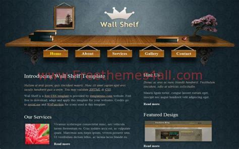 woodworking website template free wood patterns blue css website template freethemes4all