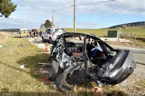 oberdorf accident mortel dans le a la une haut doubs un jeune se tue dans un accident de la route l est r 233 publicain