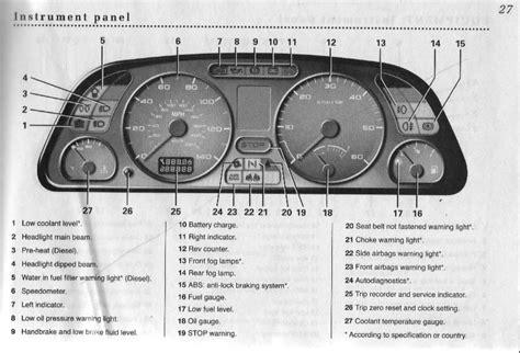 Peugeot 306 Warning Lights 306oc Peugeot 306 Owners Club Forum Instrument Panel