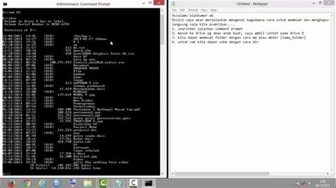 cara membuat wifi sendiri dengan command prompt cara membuat folder dengan menggunakan command prompt cmd